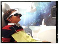Disfrutando del cine en Dental Asensio