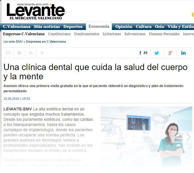 Una clínica dental que cuida la salud del cuerpo y la mente