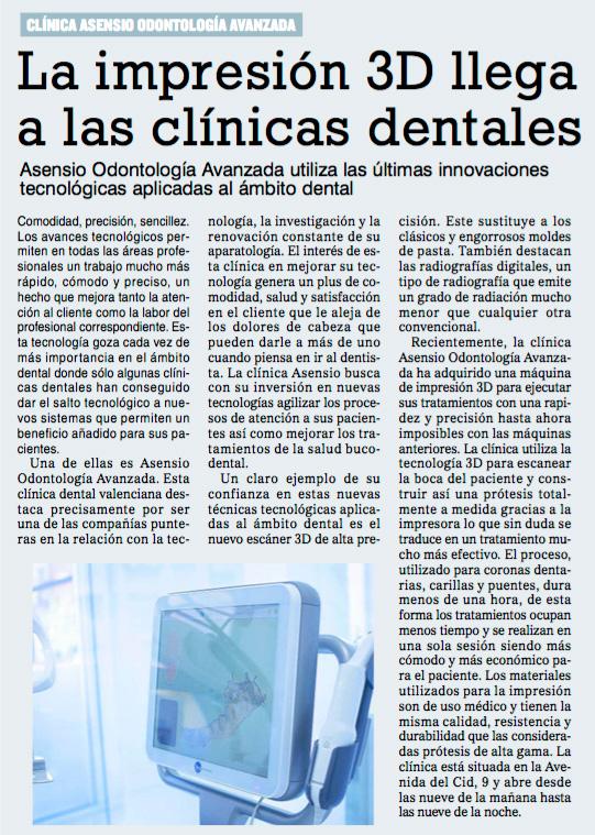 Asensio Odontología Avanzada con las nuevas tecnologías y la innovación