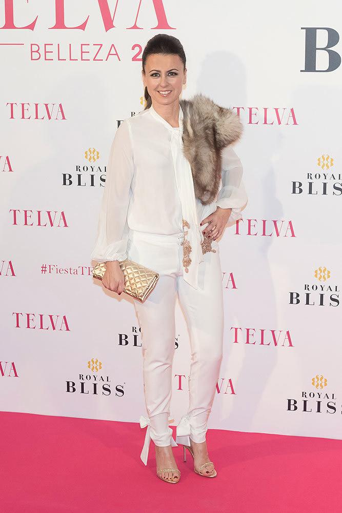 Lucía Asensio en los Premios Telva de Belleza 2017
