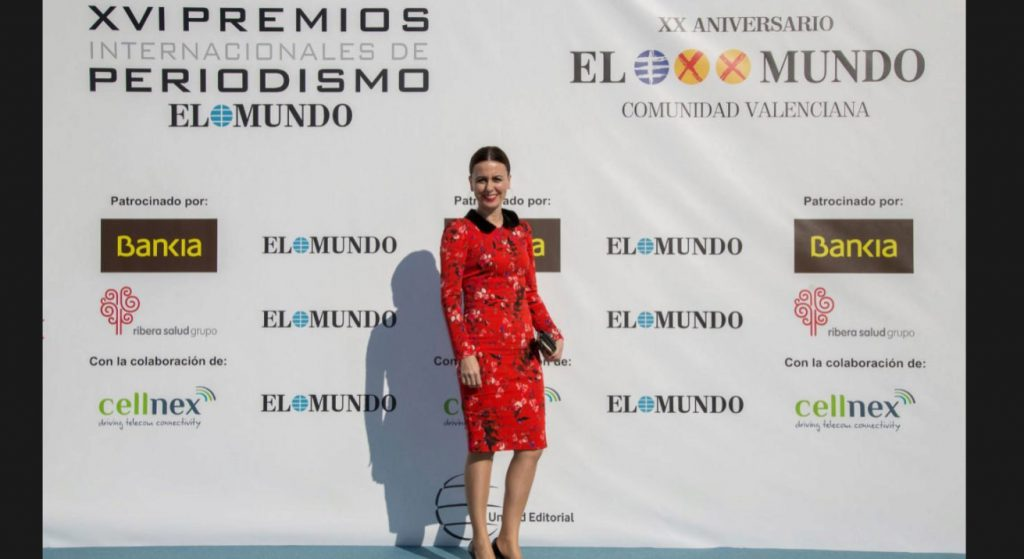 Asensio Odontología Avanzada en los premios El Mundo